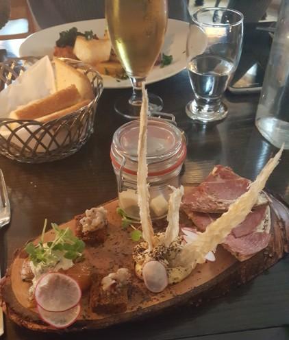Icelandic taste appetizer platter