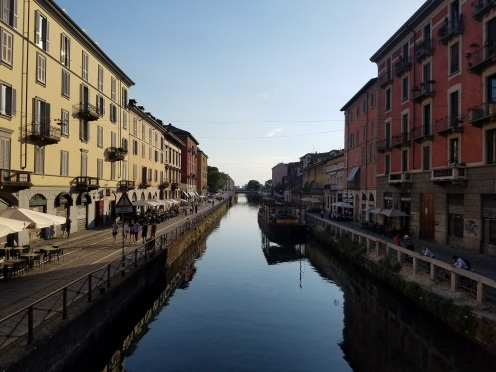 Navigli District Milan